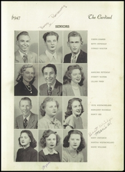 Page 13, 1947 Edition, Jacksonville High School - Cardinal Yearbook (Jacksonville, NC) online yearbook collection