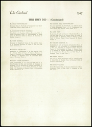 Page 16, 1947 Edition, Jacksonville High School - Cardinal Yearbook (Jacksonville, NC) online yearbook collection