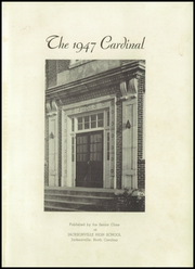 Page 5, 1947 Edition, Jacksonville High School - Cardinal Yearbook (Jacksonville, NC) online yearbook collection