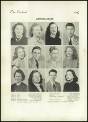 Page 8, 1947 Edition, Jacksonville High School - Cardinal Yearbook (Jacksonville, NC) online yearbook collection