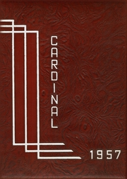 Jacksonville High School - Cardinal Yearbook (Jacksonville, NC) online yearbook collection, 1957 Edition, Page 1