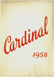 Jacksonville High School - Cardinal Yearbook (Jacksonville, NC) online yearbook collection, 1958 Edition, Page 1