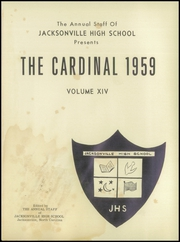 Page 5, 1959 Edition, Jacksonville High School - Cardinal Yearbook (Jacksonville, NC) online yearbook collection