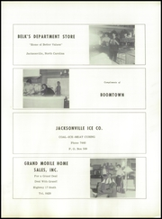 Page 155, 1960 Edition, Jacksonville High School - Cardinal Yearbook (Jacksonville, NC) online yearbook collection
