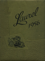 1956 Edition, Millbrook High School - Laurel Yearbook (Raleigh, NC)
