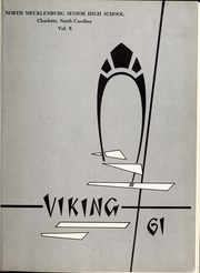 Page 5, 1961 Edition, North Mecklenburg High School - Viking Yearbook (Huntersville, NC) online yearbook collection