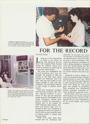 Page 8, 1987 Edition, West Forsyth High School - Cronus Yearbook (Clemmons, NC) online yearbook collection