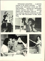 Page 9, 1967 Edition, Walter Hines Page High School - Buccaneer Yearbook (Greensboro, NC) online yearbook collection