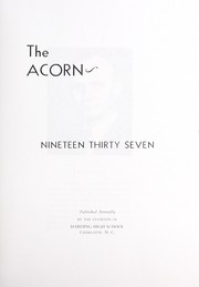 Page 9, 1937 Edition, Harding High School - Acorn Yearbook (Charlotte, NC) online yearbook collection