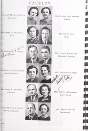 Page 11, 1938 Edition, Harding High School - Acorn Yearbook (Charlotte, NC) online yearbook collection