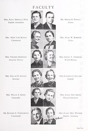 Page 13, 1938 Edition, Harding High School - Acorn Yearbook (Charlotte, NC) online yearbook collection