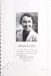 Page 9, 1938 Edition, Harding High School - Acorn Yearbook (Charlotte, NC) online yearbook collection