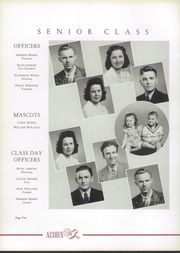 Page 14, 1942 Edition, Harding High School - Acorn Yearbook (Charlotte, NC) online yearbook collection