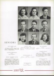 Page 16, 1942 Edition, Harding High School - Acorn Yearbook (Charlotte, NC) online yearbook collection