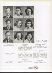 Page 17, 1942 Edition, Harding High School - Acorn Yearbook (Charlotte, NC) online yearbook collection