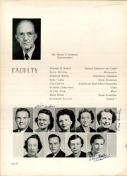 Page 10, 1944 Edition, Harding High School - Acorn Yearbook (Charlotte, NC) online yearbook collection