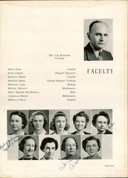Page 11, 1944 Edition, Harding High School - Acorn Yearbook (Charlotte, NC) online yearbook collection