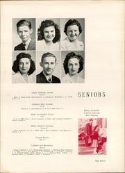 Page 15, 1944 Edition, Harding High School - Acorn Yearbook (Charlotte, NC) online yearbook collection