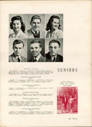 Page 17, 1944 Edition, Harding High School - Acorn Yearbook (Charlotte, NC) online yearbook collection