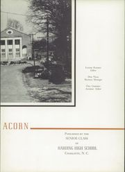 Page 7, 1947 Edition, Harding High School - Acorn Yearbook (Charlotte, NC) online yearbook collection