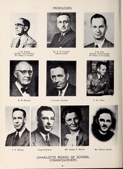 Page 10, 1953 Edition, West Charlotte High School - Lion Yearbook (Charlotte, NC) online yearbook collection