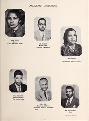 Page 13, 1953 Edition, West Charlotte High School - Lion Yearbook (Charlotte, NC) online yearbook collection
