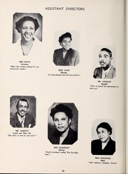 Page 14, 1953 Edition, West Charlotte High School - Lion Yearbook (Charlotte, NC) online yearbook collection