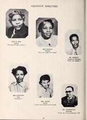 Page 16, 1953 Edition, West Charlotte High School - Lion Yearbook (Charlotte, NC) online yearbook collection