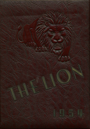1954 Edition, West Charlotte High School - Lion Yearbook (Charlotte, NC)