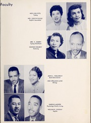 Page 11, 1957 Edition, West Charlotte High School - Lion Yearbook (Charlotte, NC) online yearbook collection