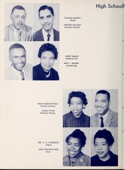 Page 12, 1957 Edition, West Charlotte High School - Lion Yearbook (Charlotte, NC) online yearbook collection