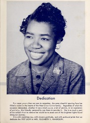 Page 7, 1957 Edition, West Charlotte High School - Lion Yearbook (Charlotte, NC) online yearbook collection