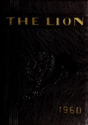 1960 Edition, West Charlotte High School - Lion Yearbook (Charlotte, NC)