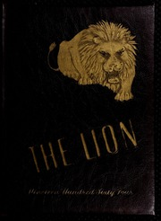 1964 Edition, West Charlotte High School - Lion Yearbook (Charlotte, NC)
