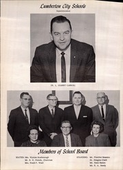 Page 8, 1962 Edition, Lumberton High School - Pirateer Yearbook (Lumberton, NC) online yearbook collection