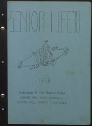 Page 2, 1938 Edition, Chapel Hill High School - Hill Life Yearbook (Chapel Hill, NC) online yearbook collection
