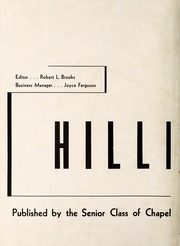 Page 6, 1946 Edition, Chapel Hill High School - Hill Life Yearbook (Chapel Hill, NC) online yearbook collection