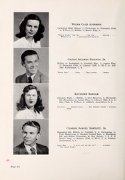 Page 10, 1947 Edition, Chapel Hill High School - Hill Life Yearbook (Chapel Hill, NC) online yearbook collection
