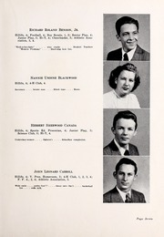 Page 11, 1947 Edition, Chapel Hill High School - Hill Life Yearbook (Chapel Hill, NC) online yearbook collection