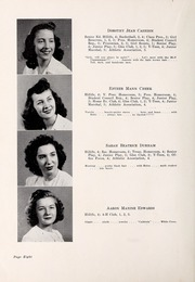 Page 12, 1947 Edition, Chapel Hill High School - Hill Life Yearbook (Chapel Hill, NC) online yearbook collection