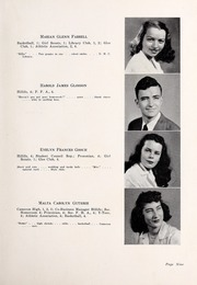 Page 13, 1947 Edition, Chapel Hill High School - Hill Life Yearbook (Chapel Hill, NC) online yearbook collection