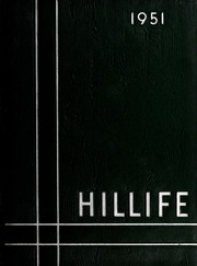 1951 Edition, Chapel Hill High School - Hill Life Yearbook (Chapel Hill, NC)