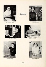 Page 10, 1952 Edition, Chapel Hill High School - Hill Life Yearbook (Chapel Hill, NC) online yearbook collection