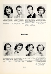 Page 13, 1952 Edition, Chapel Hill High School - Hill Life Yearbook (Chapel Hill, NC) online yearbook collection