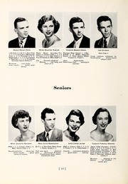 Page 14, 1952 Edition, Chapel Hill High School - Hill Life Yearbook (Chapel Hill, NC) online yearbook collection