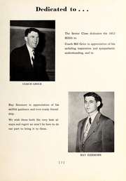 Page 7, 1952 Edition, Chapel Hill High School - Hill Life Yearbook (Chapel Hill, NC) online yearbook collection