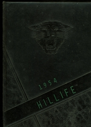 1954 Edition, Chapel Hill High School - Hill Life Yearbook (Chapel Hill, NC)