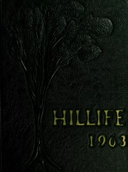 1963 Edition, Chapel Hill High School - Hill Life Yearbook (Chapel Hill, NC)