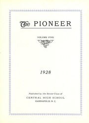 Page 7, 1928 Edition, A L Brown High School - Albrokan Yearbook (Kannapolis, NC) online yearbook collection