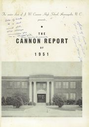 Page 5, 1951 Edition, A L Brown High School - Albrokan Yearbook (Kannapolis, NC) online yearbook collection